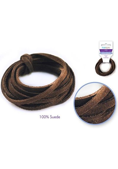 Jewelry/Craft Cord - Dark Brown