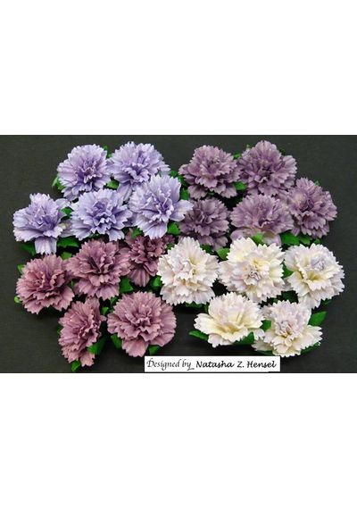 PURPLE/LILAC - Carnations Combo