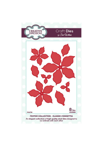 Festive Collection - Classic Poinsettia - Die