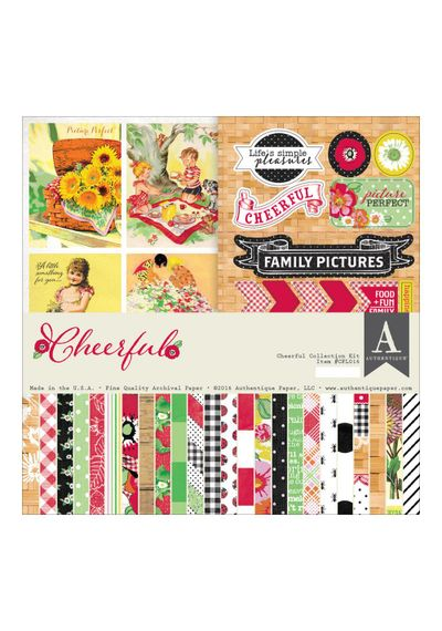 "Cheerful Collection Kit 12""X12"""
