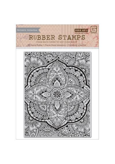 Large Petal Background - Stamp