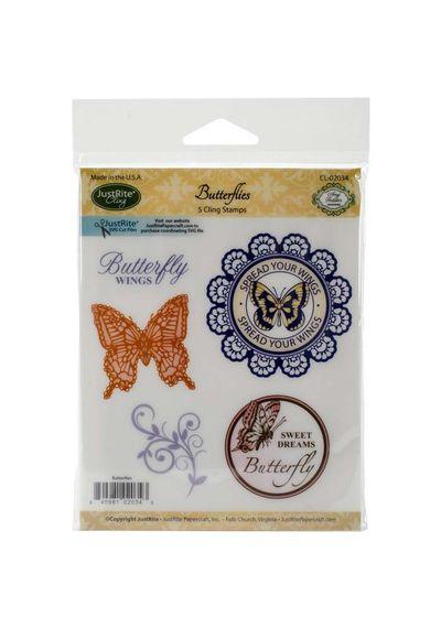 Butterflies - 5 Pcs