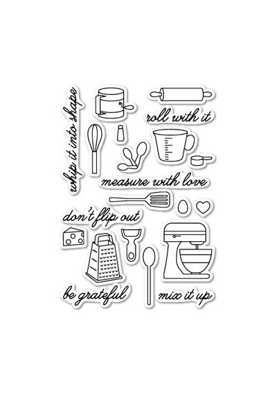 In The Kitchen Clear Stamp Set