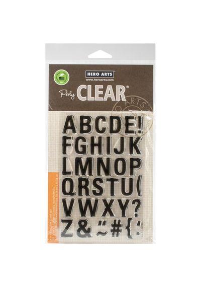 Luggage Tag Alphabet - Stamp
