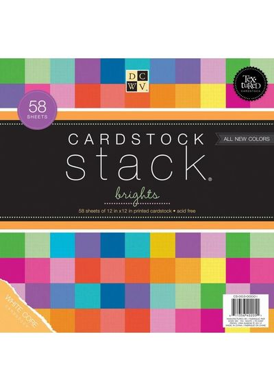 "Brights - Cardstock Stack 12"" X 12"""