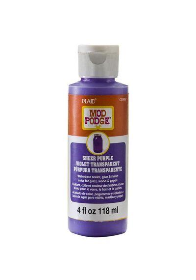 Purple - Mod Podge Sheer Color 4oz