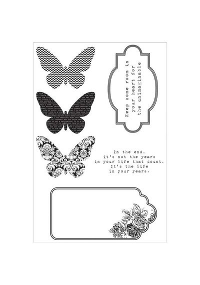 Kaleidoscope Clear Stamps