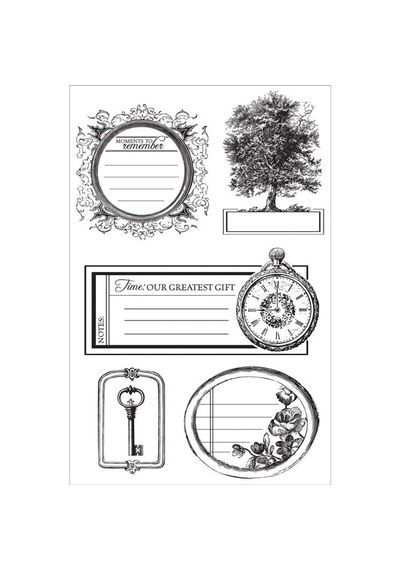 Heirloom Clear Stamps 6.25\