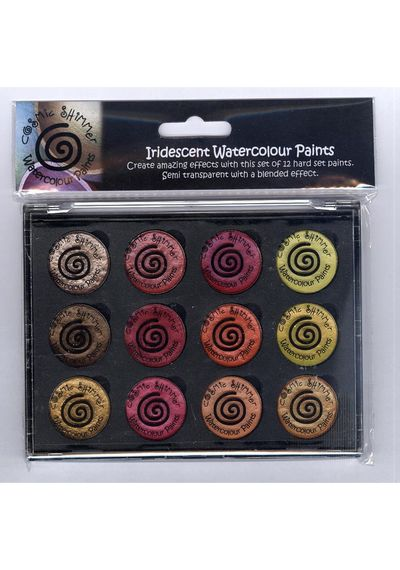 Autumn Sunrise - Iridescent Watercolour Pallet Set