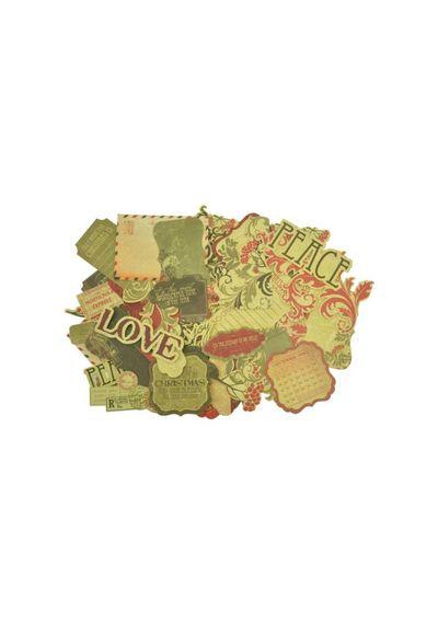 Twig & Berry Collectables Cardstock Die-Cuts 59/Pkg