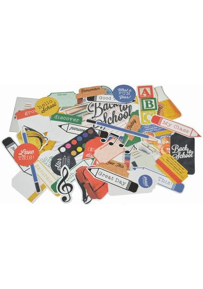 2 Cool 4 School Collectables Cardstock Die-Cuts