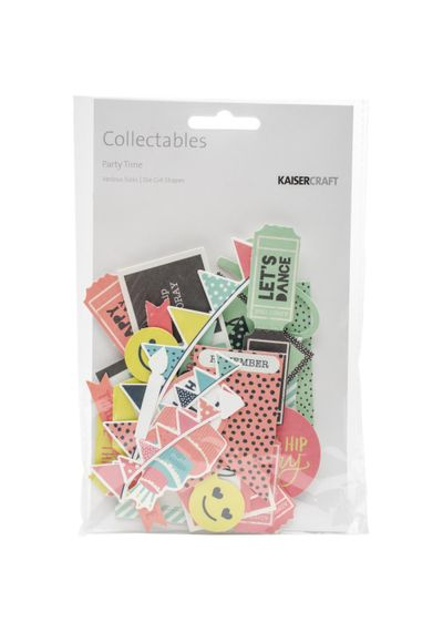 Party Time - Collectables Cardstock Die-Cuts