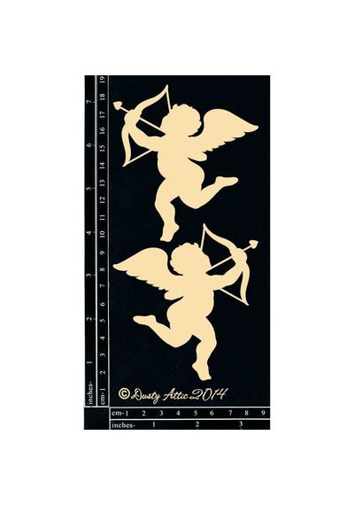 Cupid 2pk - Chipboard Cutouts