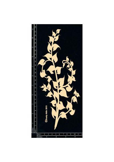 Leafy Stem #4 - Chipboard Cutouts