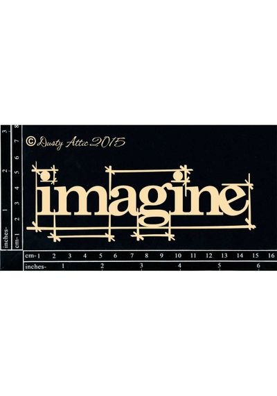 Blueprint IMAGINE - Chipboard Cutouts