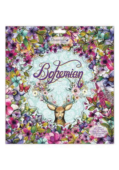 """Bohemian Paper 12""""X12"""" 36/Pkg"""
