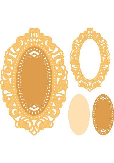 Mirror Mirror Doily Frame (Set of 3)