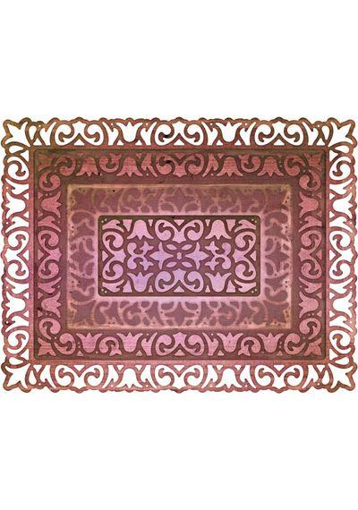 Dutch Daisy Boutique Stacker A2 Frame 4 Piece Die Set
