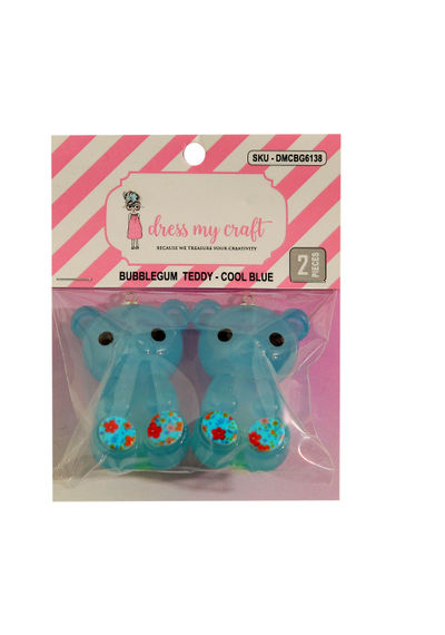 Bubblegum Teddy - Cool Blue