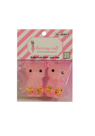 Bubblegum Teddy - Baby Pink