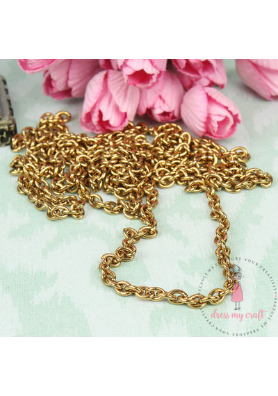 Golden Antique Chain - Thin