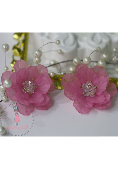 Big 3D Fairy Flowers - Pink