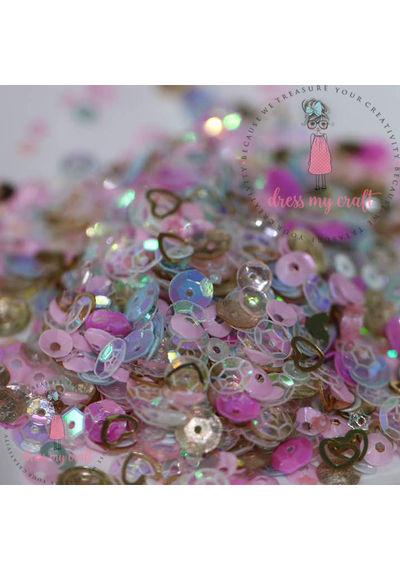 Pink Celebration Sequins