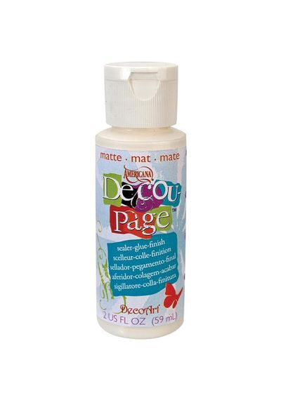 Decoupage Glue - 2oz Matte