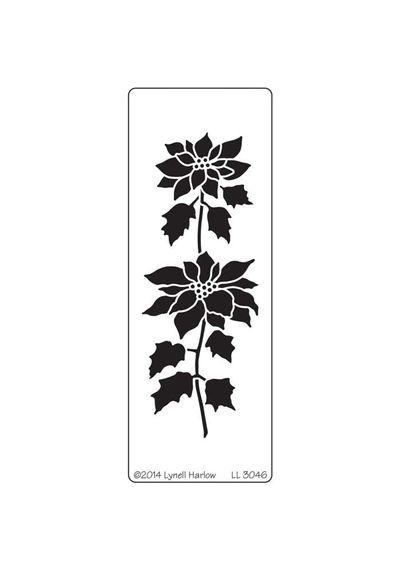 Tall Poinsettia - Stencils