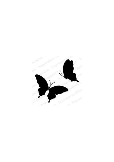 Solid Frilly Butterfly Pair