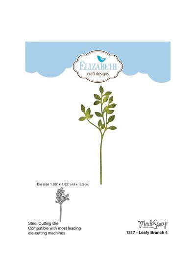 Leafy Branch 4 - Die