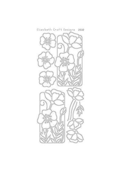 Flowers in Frame - Black
