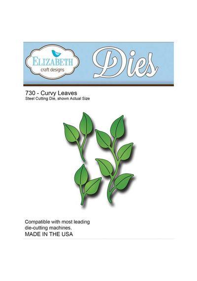 Curvy Leaves - Die