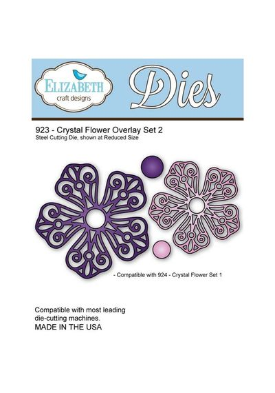 Crystal Flower Overlay Set 2