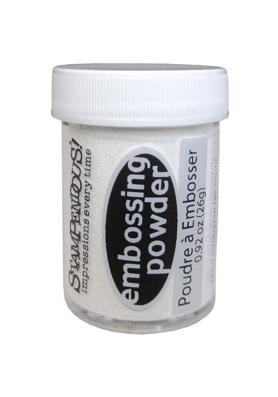 White Opaque - Embossing Powder