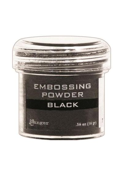Black - Embossing Powder