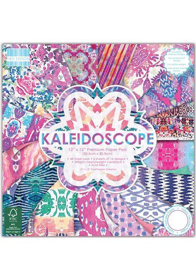 "Kaleidoscope Paper 12""X12"" 48/Pkg"
