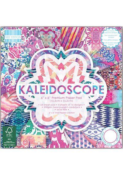 "Kaleidoscope Paper 6""X6"" 64/Pkg"