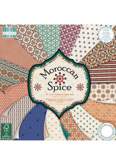 "Morrocan Spice, 12"" X 12"""