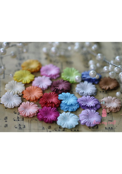 Sakura Flat Flowers - Multicolor