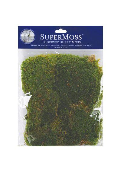 Green - Preserved Sheet Moss 2oz
