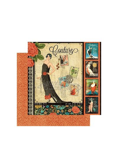 "Couture - Couture Double-Sided Cardstock 12""X12"""