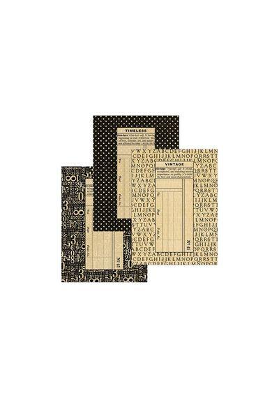 """Staples Regular Black Policy Envelopes 4.75""""X6.5"""" 6/Pkg"""