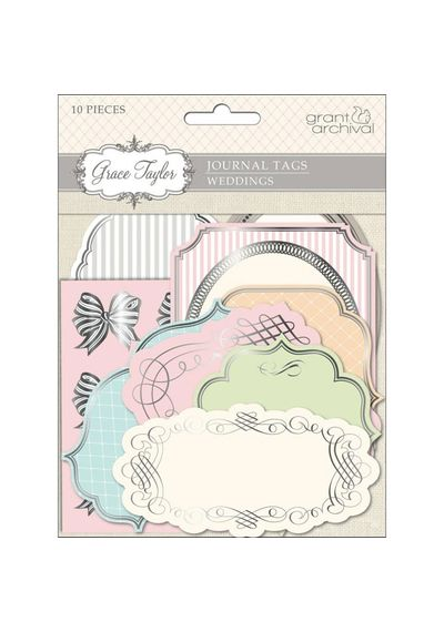 Grace Taylor Wedding Journal Tags 10/Pkg