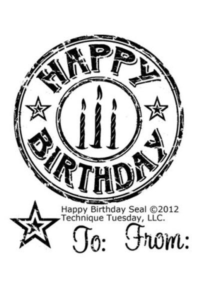 Happy Birthday Seal