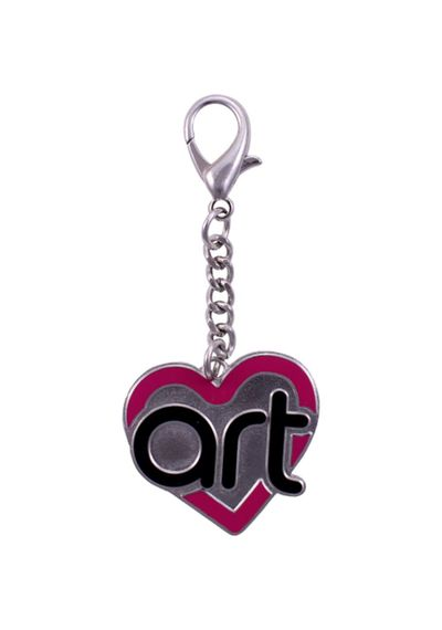 Art From The Heart Logo Charm