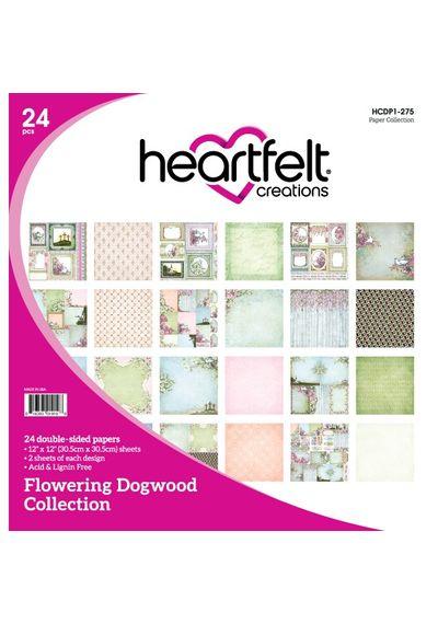 "Flowering Dogwood 12""X12"" Paper Pad 24/Pkg"