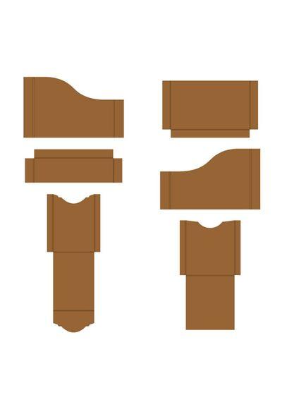 Kraft - Pocket and Flipfold Inserts A