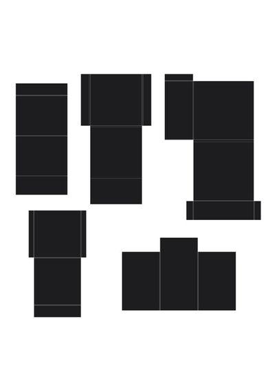 Black - Pocket and Flipfold Inserts C