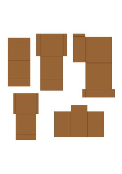 Kraft - Pocket and Flipfold Inserts C